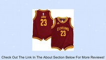 LeBron James Cleveland Cavaliers Burgundy NBA Infants 2014-15 Revolution 30 Replica Jersey (24 Months) Review