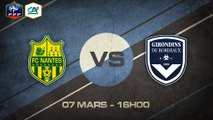 Samedi 07 mars à 16h00 - FC Nantes (B) - FCG Bordeaux (B) - CFA D