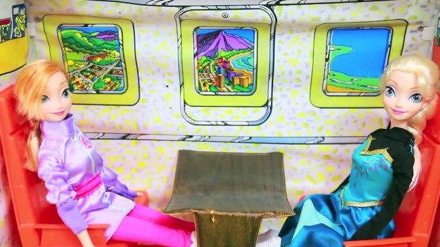 Frozen Elsa & Anna Vacation To ALASKA Disney Princess Barbie Parody AllToyCollector