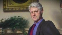 Bill Clinton portrait alludes to Monica Lewinsky scandal