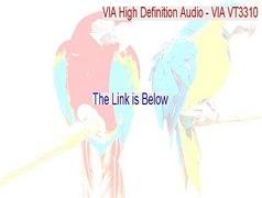 VIA High Definition Audio VIA VT3310 UAA Download Free Insta