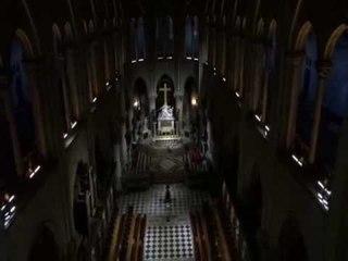DRDA : Un drône dans Notre-Dame de Paris