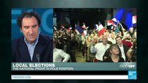 French local elections: Far-right National Front in pole position