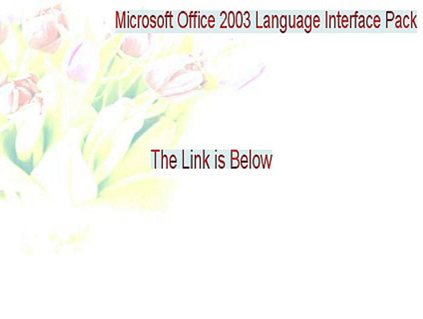 ms office 2003 torrent crack