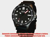 German Military Titanium Automatic Watch. GPW Date. Red Minute Hand. 200M W/R. Sapphire Crystal.