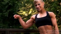 WENDY LINDQUIST - FLEXING/POSING - Female Bodybuilding Muscle Fitness