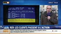 Des usagers du RER A lancent la première action de groupe contre la SNCF, le Stif et la RATP