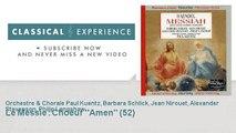 Georg-Friedrich Haëndel : Le Messie : Choeur Amen (52)