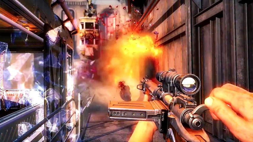 Wolfenstein - The Old Blood - Bande-annonce de gameplay officielle