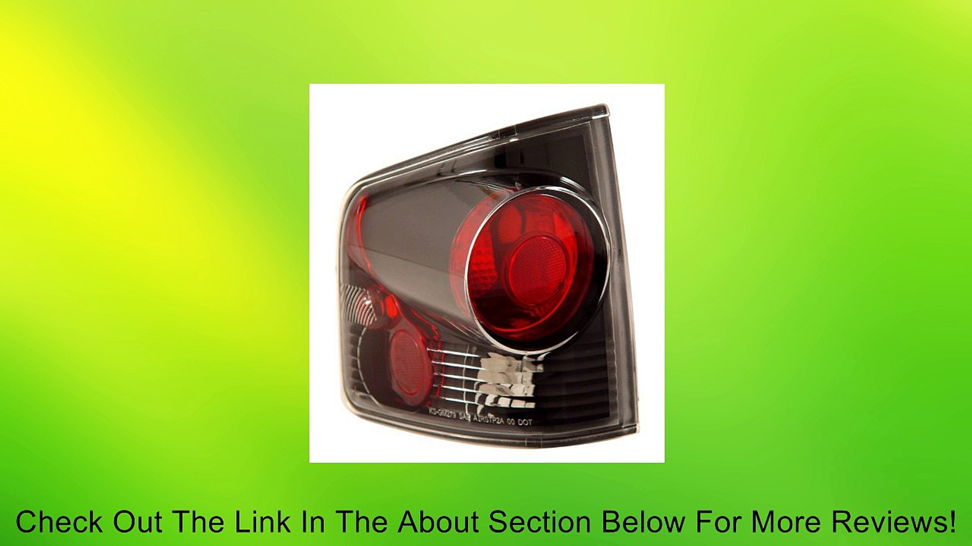 1994-2004 Chevy S10, 1994-2004 Gmc Sonoma Tail Lights 3d Style Black Review