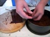 Really moist triple layer chocolate cake recipe. No bake!