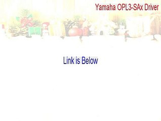 Yamaha opl3-sax driver cracked (free download 2015) video.