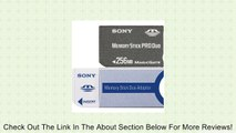 Sony 256 MB Memory Stick PRO Duo Flash Memory Card MSXM-256S Review