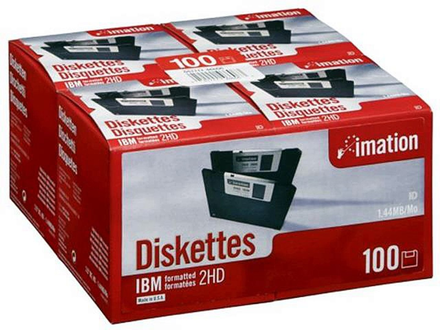 Kao MF2HD 3.5 High Density Floppy Diskettes 2mb Pack of 10