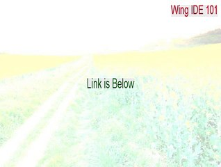 Wing IDE 101 Crack - Download Here 2015 - video dailymotion