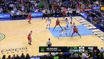 Giannis Antetokounmpo Chasedown Block - Bucks vs Nuggets - March 3, 2015 - NBA Season 2014-15