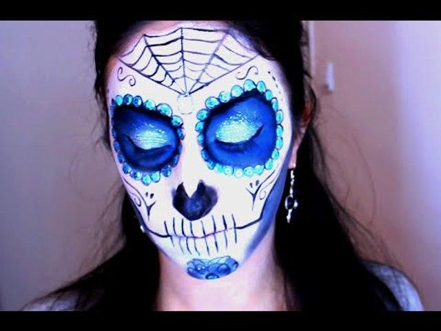 Maquillage Halloween 2014 #2 El Dia De Los Muertos