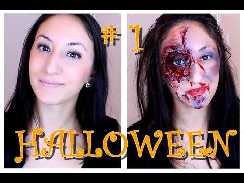 Maquillage Halloween 2014 # 1
