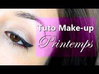 Tuto Make-up Printemps