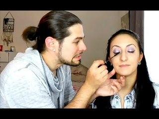 Tag : My Boyfriend Does My Makeup