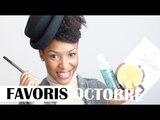Mes favoris (mode, soin visage et corps, cheveux, maquillage...)   Octobre 2014