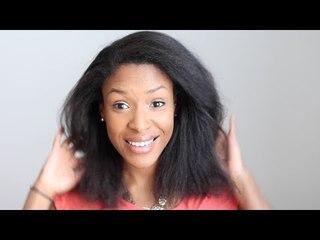 Lissage sur cheveux naturels crépus/frisés J+4 - VLOG