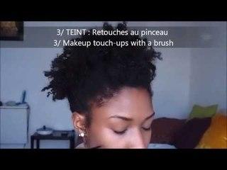 Maquillage naturel peau noire / peau foncée - Natural Makeup