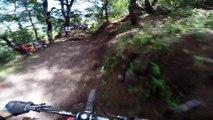 Descente en VTT avec Rémy Métailler, chamipon de MTB Downhill - POV GoPro
