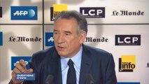 """François Bayrou favorable à la proportionnelle : """"Les électeurs du FN ont le droit d'être représentés"""""""