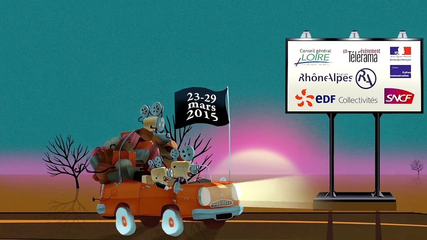Film-annonce du 6ème Festival Ciné court animé de Roanne