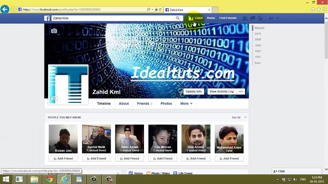 Hide Facebook  Friends List From All Completely