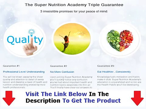 Super Nutrition Academy Download + Super Nutrition Academy