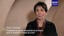 Soizic Courcier présente l'enquête 2014 sur l'attractivité de la France en matière d'essais cliniques