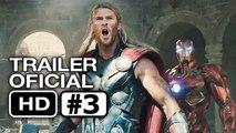 LOS VENGADORES 2 La Era de Ultron-Trailer #3 OFICIAL en Español (HD) Chris Hemsworth