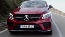 Geneva Motor Show 2015 - Mercedes-Benz GLE 450 AMG Coupe Driving Video