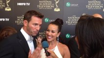 Red Carpet Chats: Celebrity #Workdads (Daytime Emmys 2014)