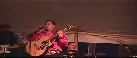 EP Express sings Treat Me Nice at Elvis Week 2006 at Elvis Week ELVIS PRESLEY SONG video