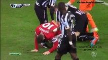 Ньюкасл Юнайтед - Манчестер Юнайтед 0_1 Видео обзор Highlights Английская Премьер-Лига 2014-15  28 тур