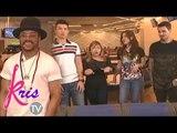 Team Apl raps with their coach on Kris TV
