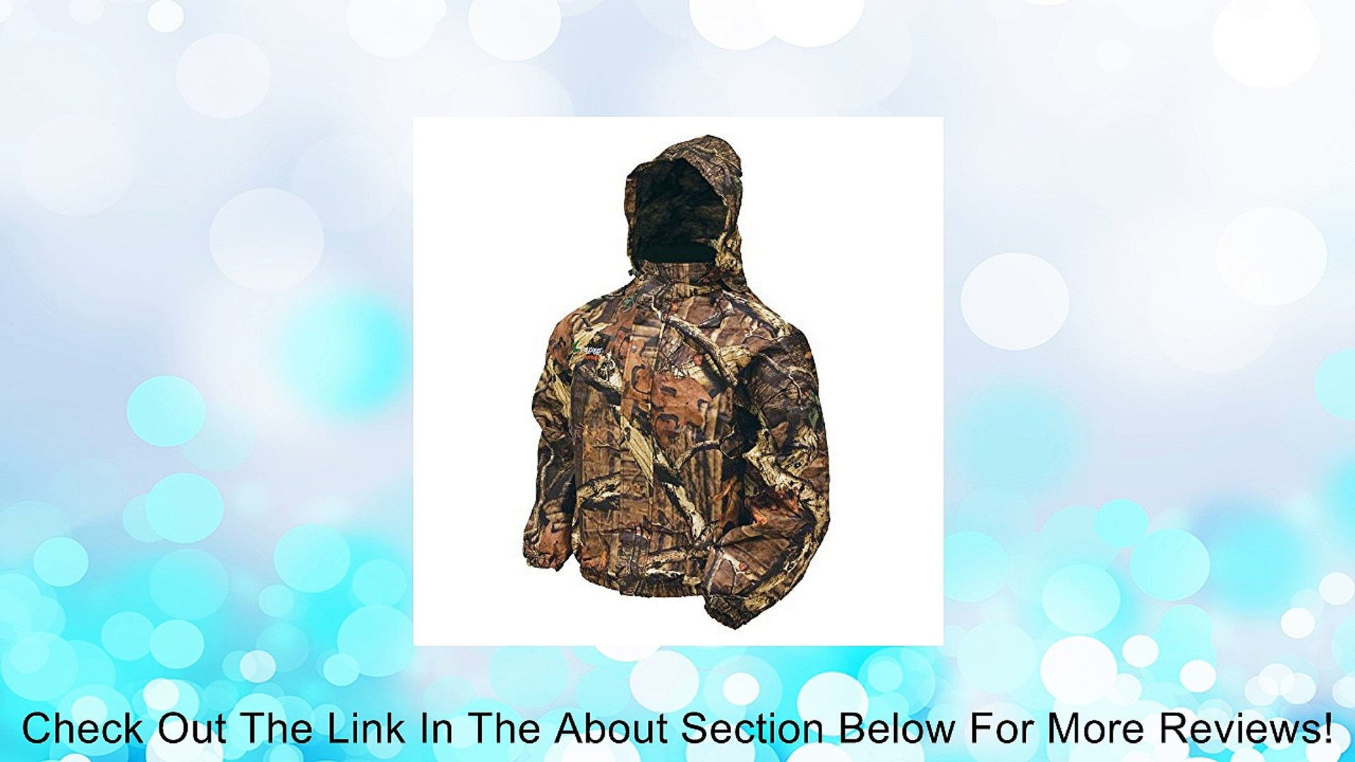 Frogg Toggs Classic Pro-Action Camo Jacket PA63102-55 (Medium) Review