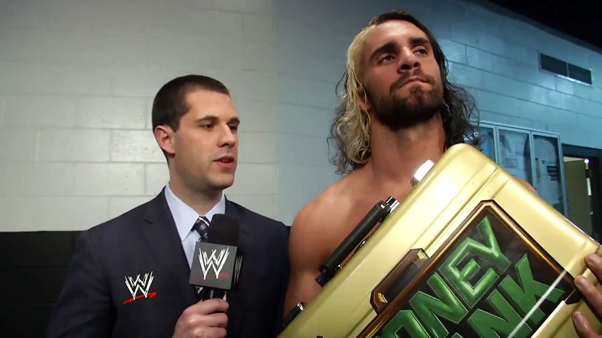 GIVE IT UP FOR THE NEW MR. MONEY IN THE BANK