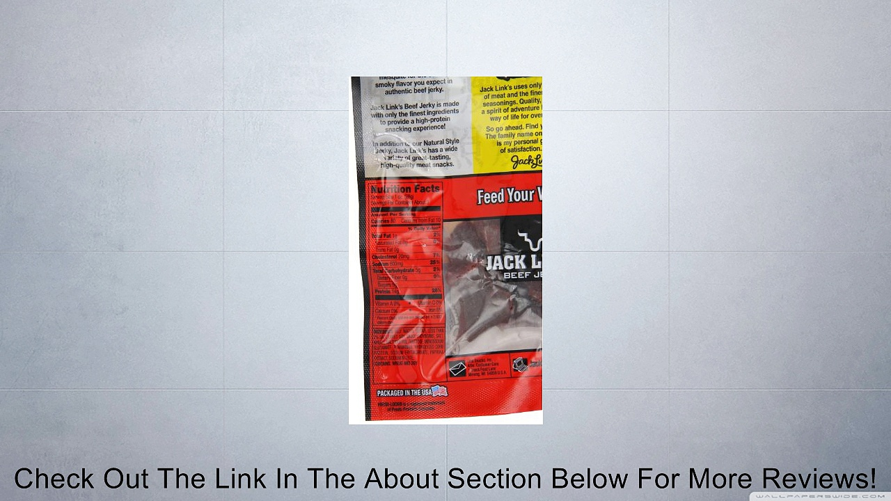 Jack Link's Beef Jerky Review