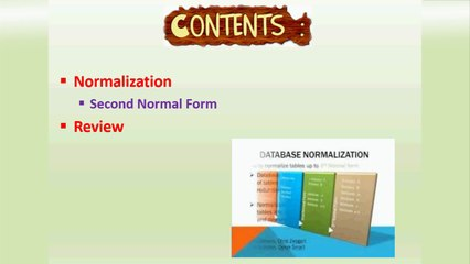 Normalization(Second Normal Form)