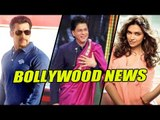 "SRK Wears Pink Saari In His Show ""India Poochega Sabse Shana Kaun"".