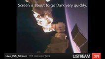 NASA TV goes Dark when UFO Spotted - 27 May, 2014
