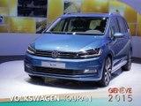 Volkswagen Touran en direct du salon de Genève 2015