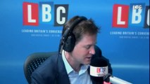 Clegg: 'I'll take PM's place in TV debate with Miliband'