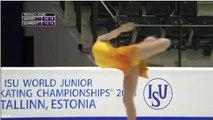 Diana NIKITINA - 2015 World Junior Championships - SP