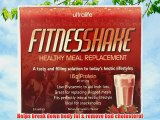 Ultralife Fitness Shake 52 g Strawberry Weight Loss Support Meal Replacement Shake Powder Sachets