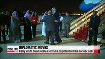 Kerry visits Saudi Arabia on Iran nuclear deal mission
